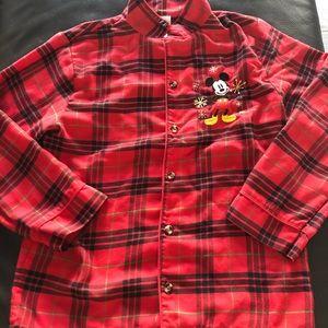 Mickey Mouse Pajama Set Size 9/10
